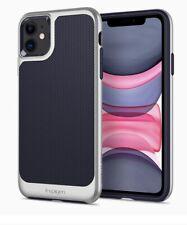 Spigen Neo Hybrid Series Case for iPhone 11 -- Satin Silver