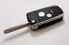 Folding Flip Remote Key Shell Case Cover For HONDA Fit Odyssey CRV 2 3 Buttons