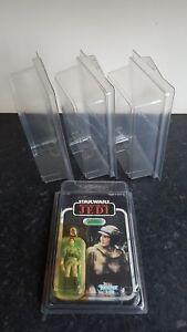 Star Wars MOC Action Figure Display Cases Vintage & Modern + More Carded Lines