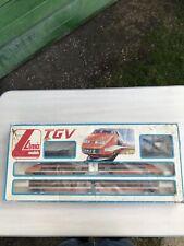 Jouet ancien coffret train TGV Lima Jouef