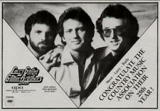 1983 THE GATLIN BROTHERS IN AN APA AGENCY  PROMO AD