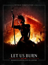 WITHIN TEMPTATION LET US BURN ELEMENTS & HYDRA DVD AND CD NEW