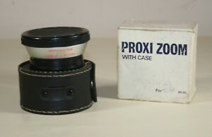 Cased Series VII Proxi Zoom Vintage Lens With Box and Case