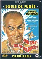 DVD : Dans l'eau qui fait des bulles - Louis de Funès - René Chateau - NEUF
