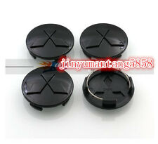 Black Mitsubishi Wheel Center Hub Cap Grandis TIS ASX Colt Outlander Lancer 60mm