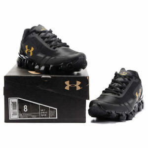 Men's Under Armour Mens UA Scorpio Running Shoes Fashion Black Leisure shoes