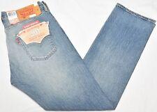 Levi's Jeans Men's 30x30 501 Original Straight Stretch Denim The Ben Wash N891