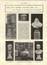 1902 Works  Sculptor Edward Onslow Ford Astronomy Age Of Stonehenge