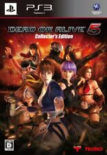 UsedGame PS3 Dead or Alive 5 Collector's Edition [Japan Import] FreeShipping