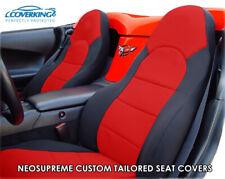 Coverking Neosupreme Custom Tailored Seat Covers for Chevy Corvette C5