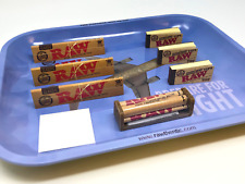 Bundle 3x Raw Classic King Size Slim + 3x Perforated Tips + Flight Tray + 79Mm