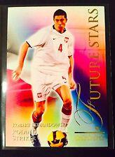 2010 Futera World Football series 2 # 725 Robert Lewandowski rookie card Poland