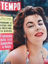 TEMPO n°23 1959 Anne Heywood - Classifica ricchezza in Italia [C88]
