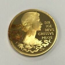 2012 Queen's Diamond Jubilee £5 Gold Plated Proof Coin -  Five Pound