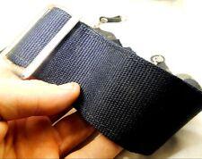 Cobre Remachada 46in hecha a mano de Cuero Negro Correa de la Cámara