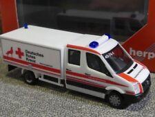 1/87 Herpa VW Crafter mit Kofferaufbau DRK Wolfsburg 093484