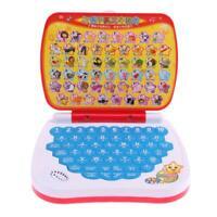 Multi-Funktion Zweisprachig Kinder Früh Lern Lernen Maschine Laptop Spielzeug #R