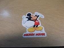 MICKEY MOUSE SERIES 1 #1 OF 12  VENDING MACHINE STICKER PRINTED IN CANADA