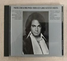 His 12 Greatest Hits by Neil Diamond (CD, Sep-1996, MCA)