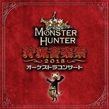 [CD] Monster Hunter Orchestra Concert Shuryou Ongakusai 2015 NEW from Japan