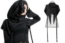 Poncho court cape écharpe capuche gothique lolita fashion japon brodé Punkrave