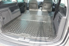 Seat Alhambra & VW Sharan 2010 On Rubber Boot Mat Options & Bumper Protector