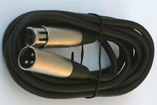 10'ft xlr male to female 3pin MIC Shielded Cable microphone audio M-F Balance