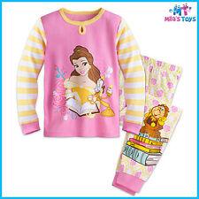 Disney Beauty and the Beast Belle PJ Pyjamas Size 5 for Girls brand new