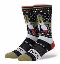 Stance Missile Toe Socks Christmas White Elephant Large