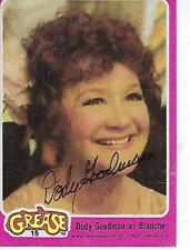 DODY GOODMAN SIGNED 1978 GREASE PINK #15 - BLANCHE