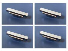 CHROME ART DECO CUPBOARD FURNITURE KNOBS HANDLES DOOR DRAWER PULL