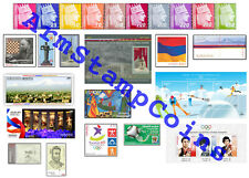 Armenia MNH** 2010 Complete Year Set All Stamps Mi 685-723 Scott 819-853*
