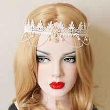 donna incantevole CORONA FASCIA Cerchietto per capelli sposa matrimonio