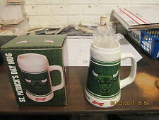 NBA Chicago Bulls Vintage Circa 2012-2013 SGA NIB St.Patrick's Day Beer Mug
