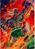 DoomsDay Collectible Card from 1994 SkyBox Master Series DC # 9