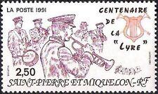 SAINT PIERRE ET MIQUELON NEUF N° 545 MUSIQUE