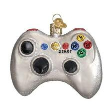 VIDEO GAME CONTROLLER OLD WORLD CHRISTMAS GLASS GAMING ORNAMENT NWT 44094
