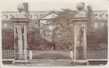 London Real Photo Postcard. South Front Royal Hospital Chelsea. Cook. 1908