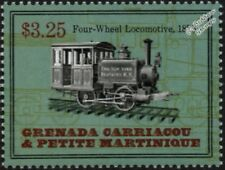 New York City Elevated Railroad 1878 0-4-0 Steam Train Locomotive Stamp