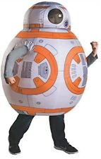 nwt kids size 5-7 years old star wars  BB-8 child inflatable Halloween costume