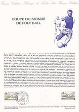 Document philatélique 15-82 1er jour 1982 Coupe du Monde de Football Espagne
