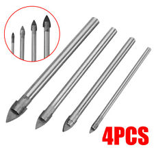 4Pcs Tools Ceramic Tile Glass And Mirror Drill Bit Set 3mm 5mm 6mm 8mm bits