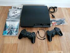 ??Sony PlayStation 3, 149GB CHECH-3004A mit 2 Controllern u. 3 Spielen??