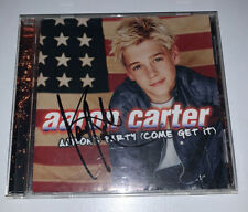 Aaron Carter SIGNED AUTOGRAPH CD Aaron's Party (Come Get It) Album I Want Candy