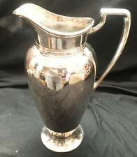 Beautiful Vintage Silver Plated Tall water Pitch with Ice Screen at the Top...