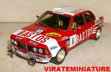 "BMW 323I GR 2 RALLYE DU CONDROZ 1982 PATRICK SNIJERS ""BASTOS"" NEO 1/43"