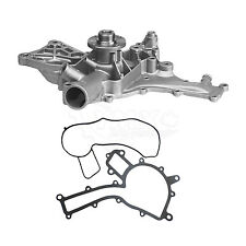 New Water Pump w/ Gasket For Mercedes Benz C32 AMG SLK32 AMG 3.2L 2002 2003 2004