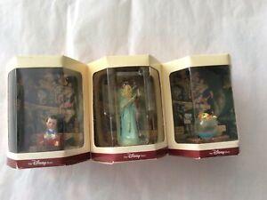 Pinocchio Walt Disney Tiny Kingdom Lot Of 3 NIB Figures