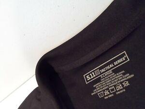 5.11 Tactical Men's Performance Short Sleeve Polo Shirt Size XL Black Top 71049