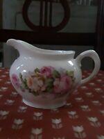 Vintage Z.S. & Co. Bavaria  Porcelain Creamer Pitcher Floral Pattern